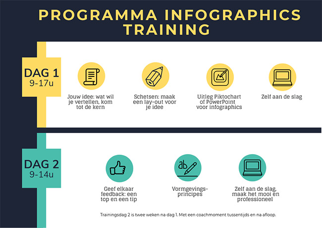 programma infographics training